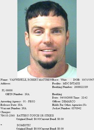 Vanilla Ice aresztowany za pobicie żony