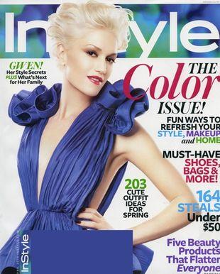 Gwen Stefani na okładce InStyle (FOTO)