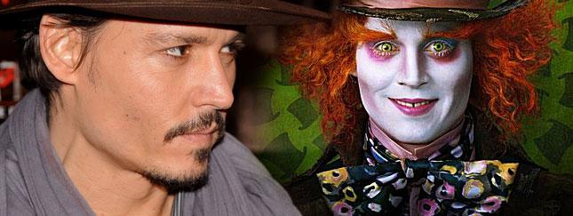Zobacz Johnny'ego Deppa w najnowszym filmie Burtona!