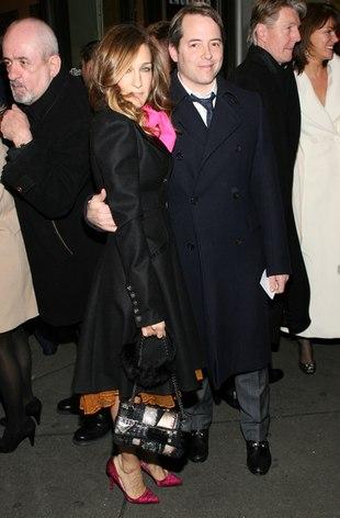 Sarah Jessica Parker na premierze z mężem (FOTO)