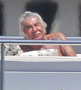 Tak odpoczywa Roberto Cavalli (FOTO)