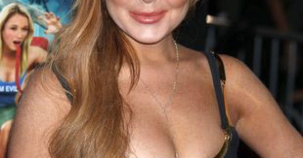 Lindsay Lohan film porno squirting na sybian