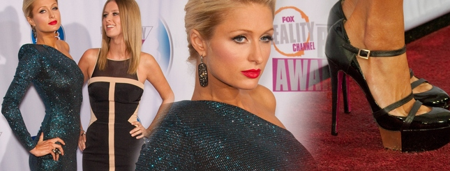 Paris i Nicky Hilton najpiękniejsze na gali stacji FOX