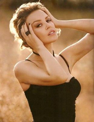 Kylie Minogue bez makijażu (FOTO)