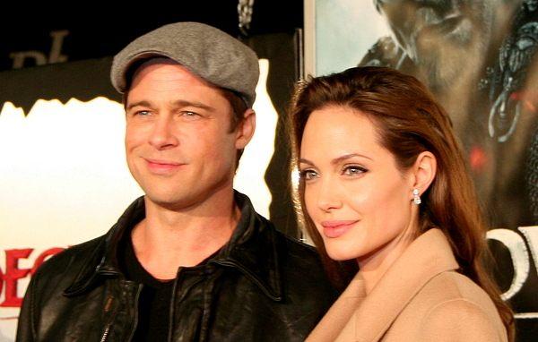 Jolie, Aniston i Pitt razem!