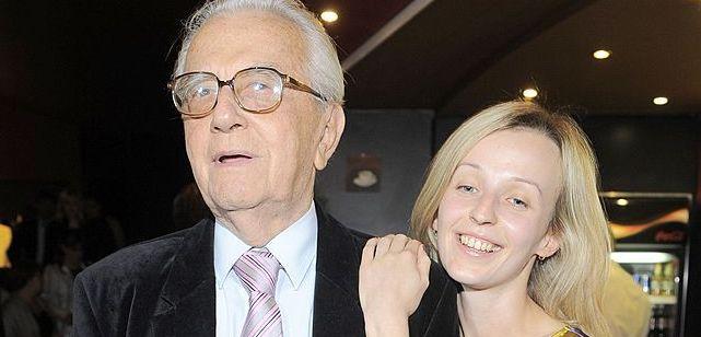 Łapicki wziął ślub, bo nie godzi się ze starością