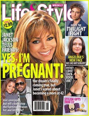 Tak, jestem w ciąży – mówi Janet Jackson