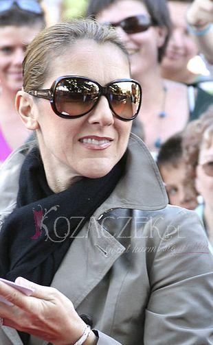 Celine Dion poroniła?