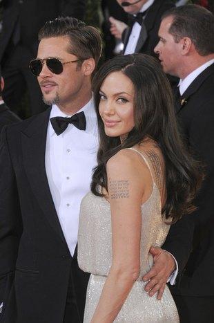 Angelina Jolie zrobiła Bradowi niecodzienny prezent