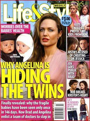 Dzieci Angeliny Jolie są poważnie chore!