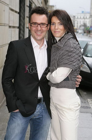Maciej Kurzajewski i jego piękna żona (FOTO)