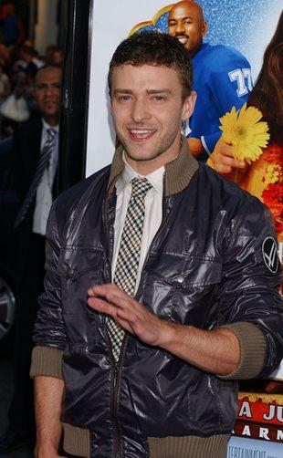 Justin Timberlake kłóci się o tirówki