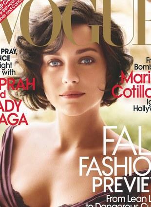 Marion Cotillard dla Vogue (FOTO)