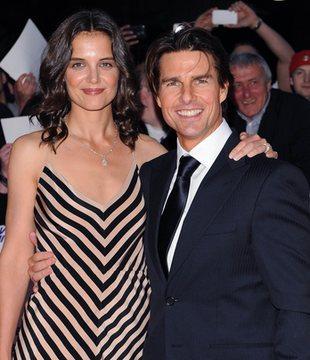 Katie Holmes z mężem na czerwonym dywanie (FOTO)