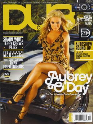 Aubrey O'Day dla magazynu DUB (FOTO)