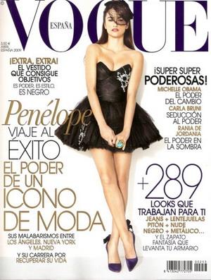 Penelope Cruz dla Vogue