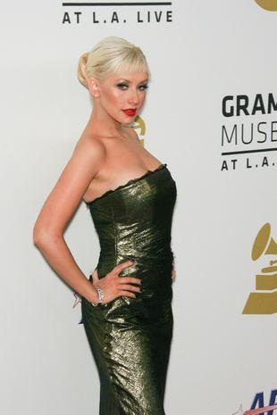 Christina Aguilera przygotowuje się do świąt