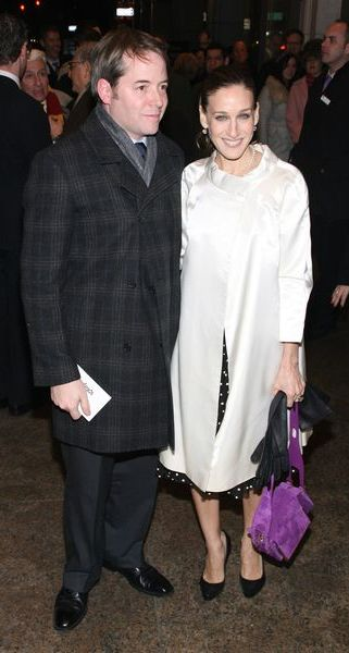 Sarah Jessica Parker z mężem - zero chemii (FOTO)