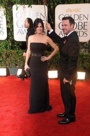 Mąż Courteney Cox broni żonę przed docinkami na temat wagi