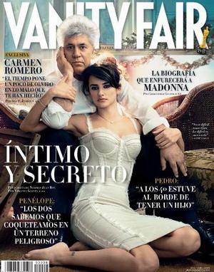 Pedro Almodovar i jego muza w Vanity Fair (FOTO)