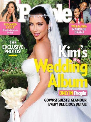 Trzy suknie ślubne Kim Kardashian (FOTO)
