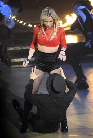 Britney Spears staje się zachłanna