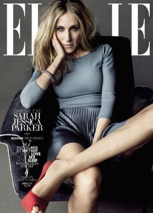 Sarah Jessica Parker w Elle (FOTO)