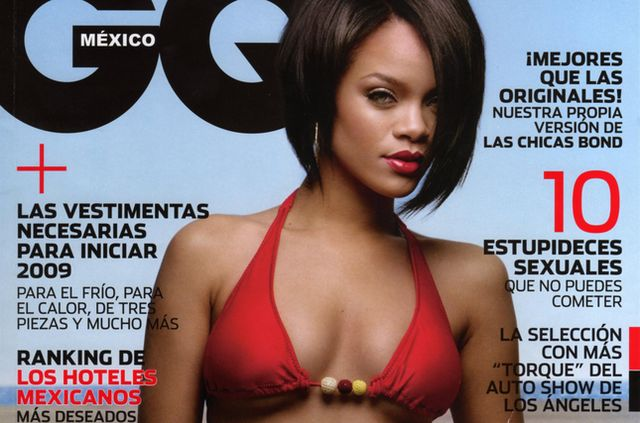 Rihanna dla GQ Mexico (FOTO)