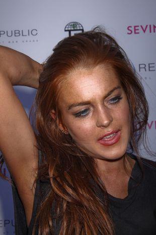 Lindsay Lohan oddała hołd Jacksonowi (FOTO)