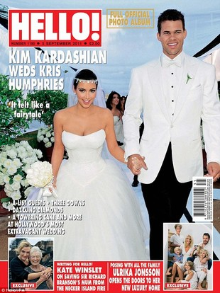Jeszcze o weselu Kim Kardashian (FOTO)