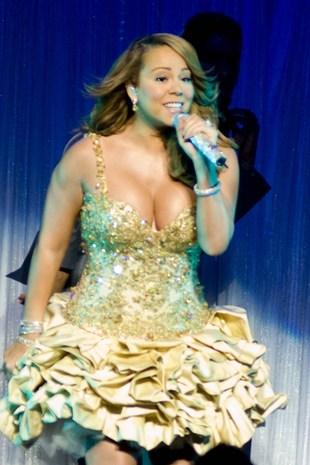 Mariah Carey - bezy są w modzie! (FOTO)
