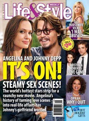 Jak wyglądać będzie scena seksu Deppa i Jolie?