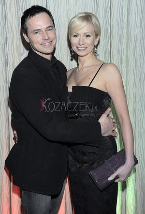 Ewa Gawryluk z mężem na salonach (FOTO)