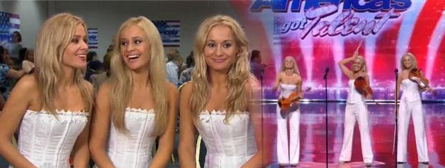 Polskie trojaczki zrobiły furorę w America's Got Talent