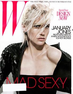 January Jones w magazynie W (FOTO)
