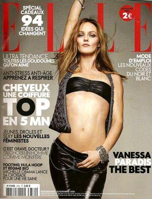 Vanessa Paradis we francuskim Elle (FOTO)