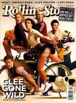 Glee w magazynie Rolling Stone (FOTO)
