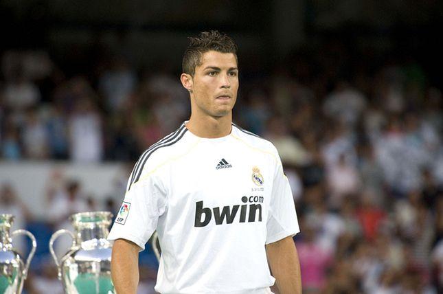 Cristiano Ronaldo wita Real Madryt (FOTO)