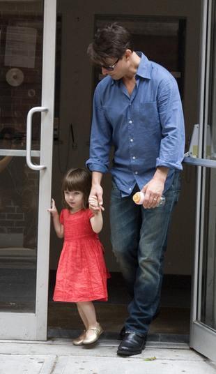 Tom Cruise chciałby, żeby Suri była aktorką
