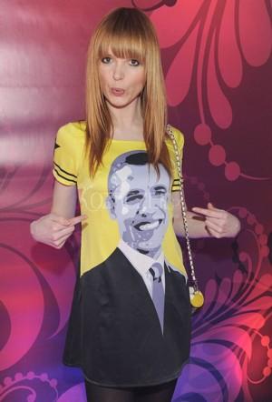 Kto tak eksponuje poparcie dla Obamy ? (FOTO)