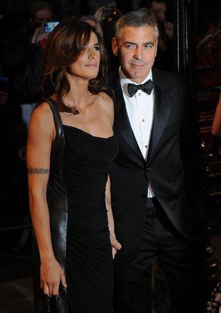 Clooney ze swą partnerką, Elisabettą Canalis (FOTO)
