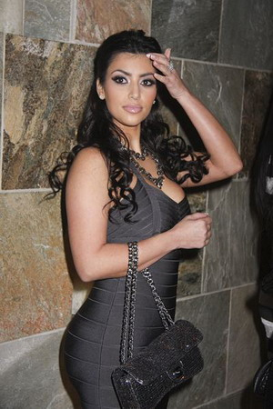 Kim Kardashian nie widzi problemu w swoim cellulicie