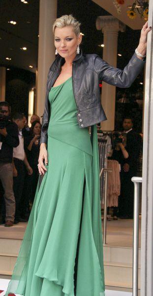 Kate Moss boi się modowej wpadki