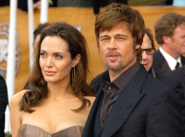 Angelina zaszła w ciążę, by ratować związek