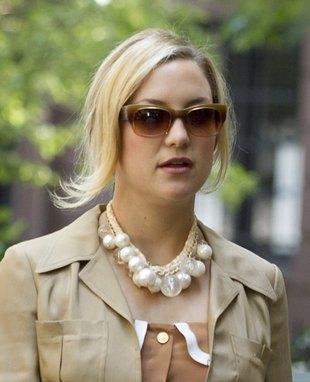 Kate Hudson na planie filmu, w którym ma zagrać Farrell