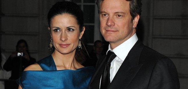 Colin Firth i jego modna, włoska żona (FOTO)