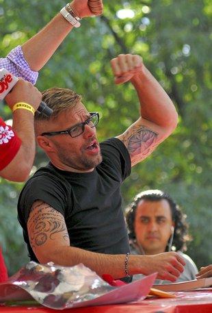 Ricky Martin jeszcze bardziej sexy (FOTO)