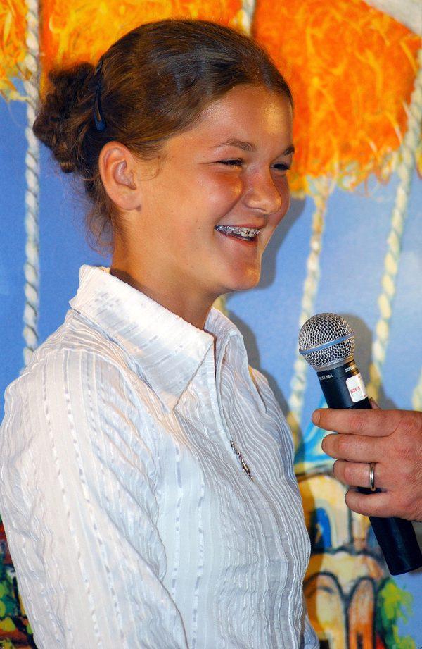 Agnieszka Radwańska w 2005 roku. Tenisistka miała wtedy 15 lat, nosiła aparat na zębach.
