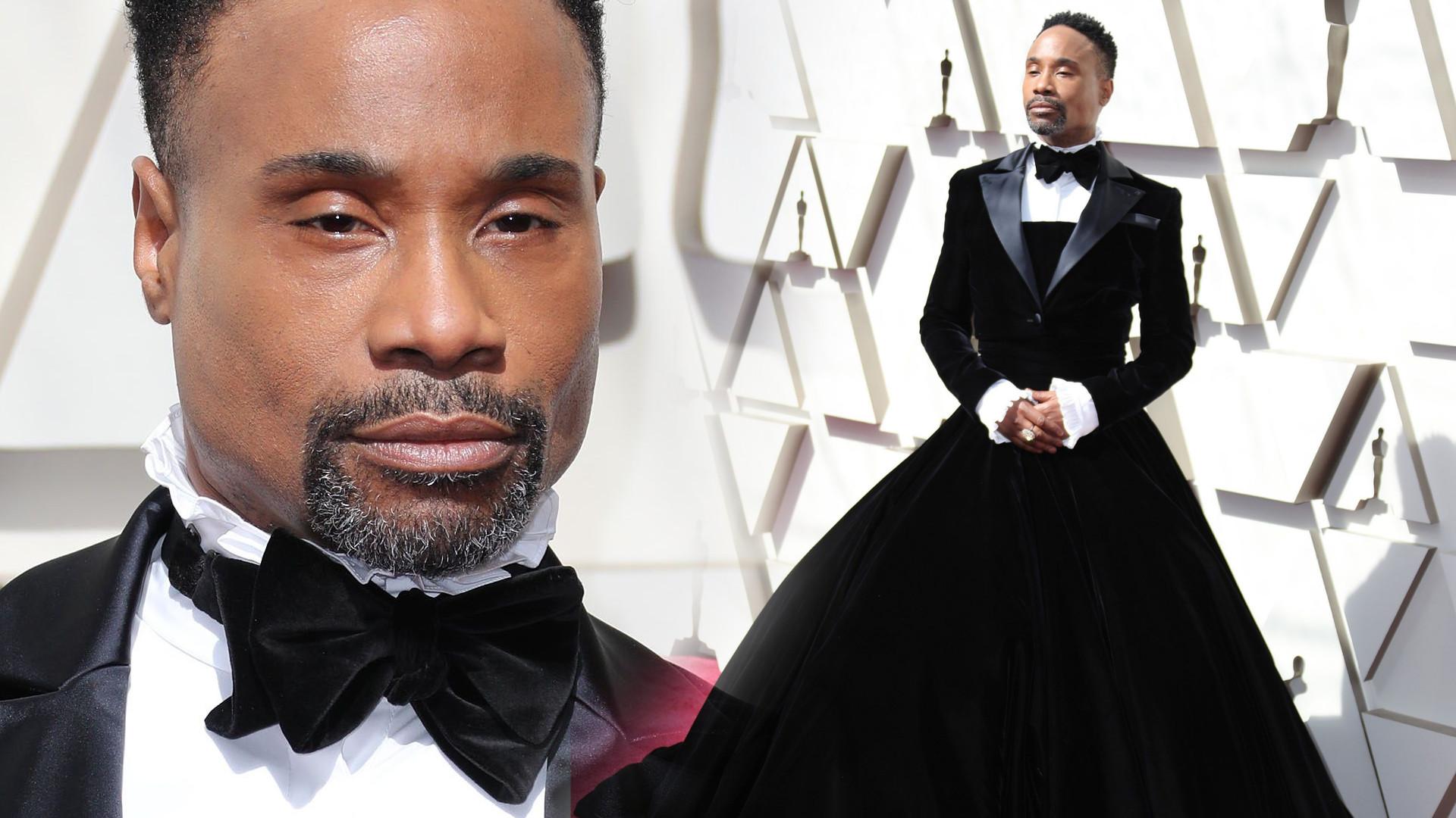 Billy Porter – mężczyzna w sukience największym modowym objawieniem Oscarów 2019? (ZDJĘCIA)