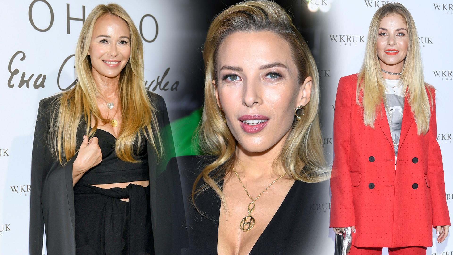 Gwiazdy na premierze kolekcji biżuterii Ewy Chodakowskiej